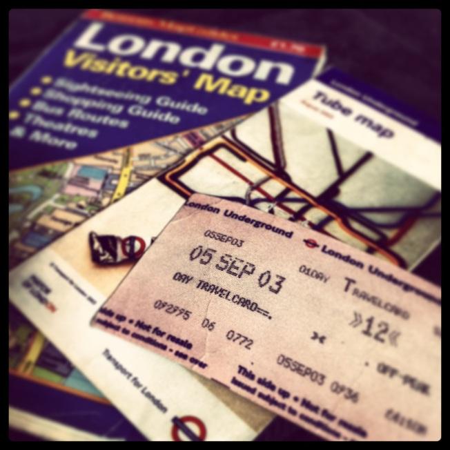 מזכרות מלונדון